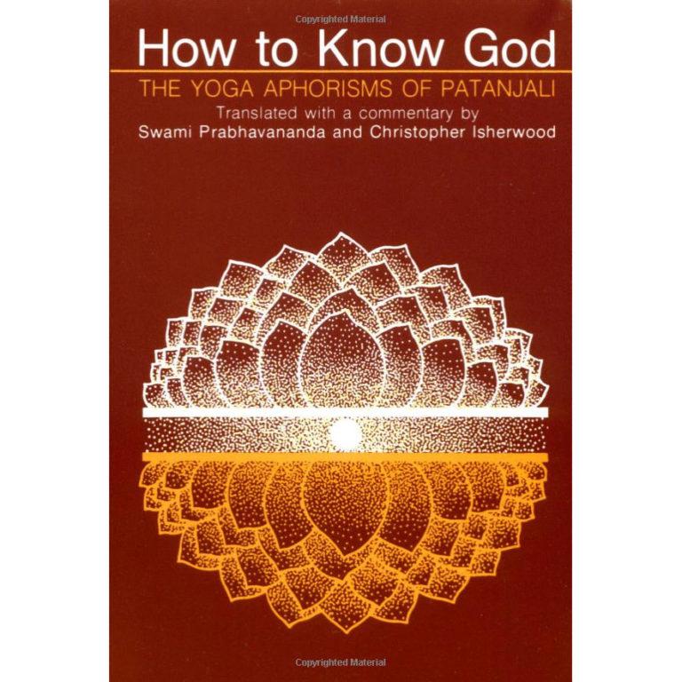 How to Know God Yoga Patanjali