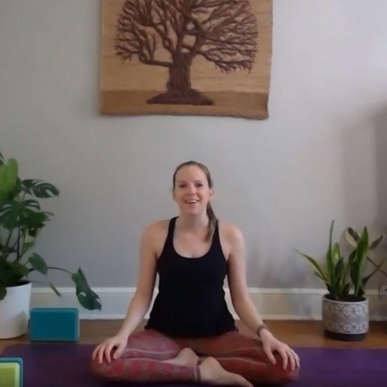 YogaLive 60-minute slow flow vinyasa practice
